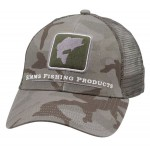 Bass Icon Trucker Hat - Pico Camo Mineral