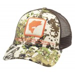 Bass Icon Trucker Hat - River Camo