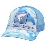 Tarpon Icon Trucker - Cloud Camo Blue