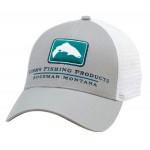 Trout Icon Trucker Hat - Granite