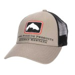 Trout Icon Trucker Hat - Tan