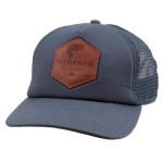 Leather Patch Trucker - Anvil