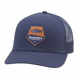 Trout Patch Trucker - Admiral Blue