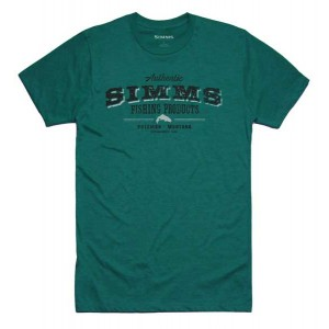 Simms Working Class T-Shirt - Dark Teal Heather