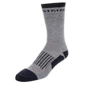 Simms Merino Midweight Hiker Sock - Steel Grey M