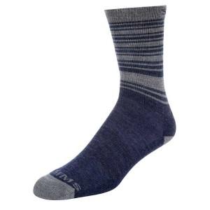 Simms Merino Lightweight Hiker Sock - Admiral Blue M