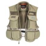 Simms Tributary Fishing Vest - Tan