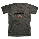 Simms Authentic T-Shirt - Charcoal Heather