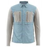 Simms GT TriComp Shirt - Cadet Blue
