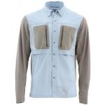 Simms GT TriComp Shirt - Light Blue