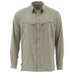 Simms Intruder BiComp Shirt - Dark Khaki