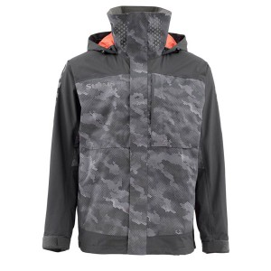 Simms Challenger Fishing Jacket - HexCamoCarbon