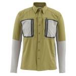 Simms Taimen TriComp Shirt - Army Green