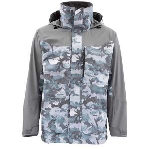Simms Challenger Jacket - Hex Flo Camo Grey Blue