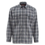 Simms Coldweather Shirt - Black Plaid