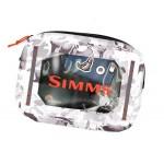 Simms Dry Creek Gear Pouch - Cloud Camo Grey