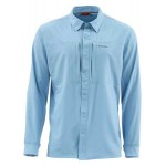 Simms Intruder BiComp Shirt - Faded Denim