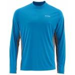 Simms SolarFlex Crewneck Shirt - Cobalt