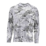 Simms SolarFlex Hoody Print - Cloud Camo Grey