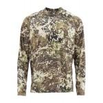 Simms SolarFlex Crewneck Shirt - River Camo