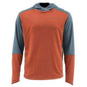 Simms SolarFlex Plus Hoody - Simms Orange