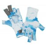 SolarFlex SunGlove - Cloud Camo Blue