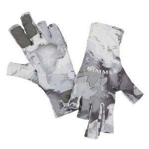 Simms SolarFlex SunGlove - Cloud Camo Grey