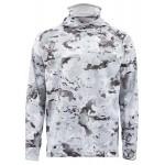 Simms SolarFlex UltraCool Armor Shirt - Cloud Camo Grey