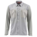 Simms TriComp Cool Shirt - Granite